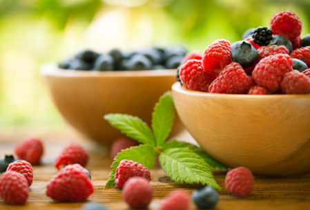 Raspberries for cholesterol